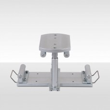 Flexural Test Device For Concrete Beams
