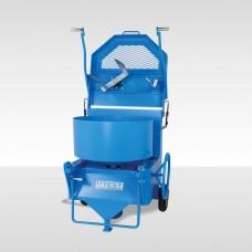 Concrete Mixer Pan Type